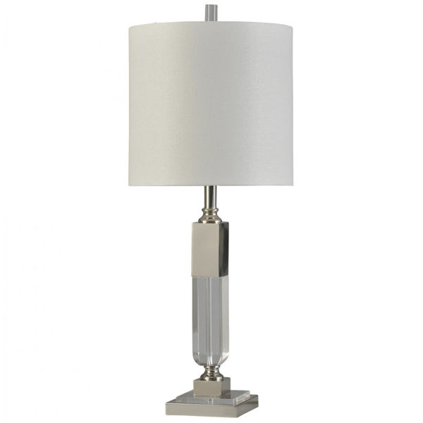 Picture of POLISHED NICKEL TABLE LAMP