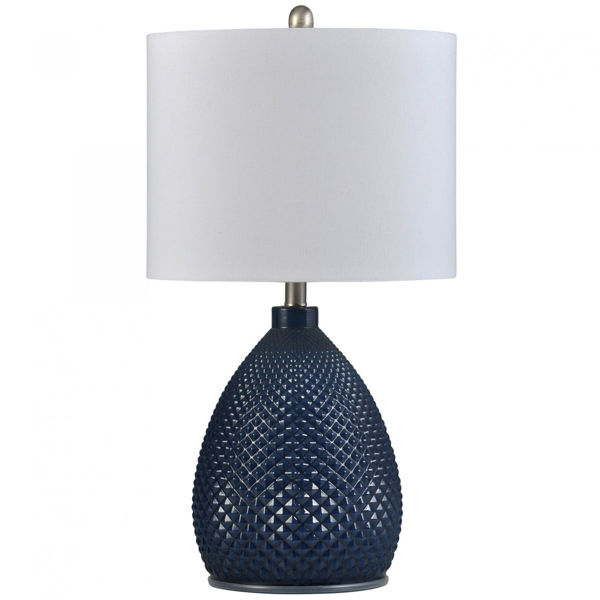 Picture of NAVY BLUE TABLE LAMP