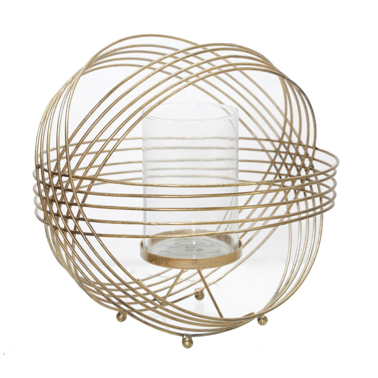 Picture of METAL TEA LIGHT CANDLE HOLDER