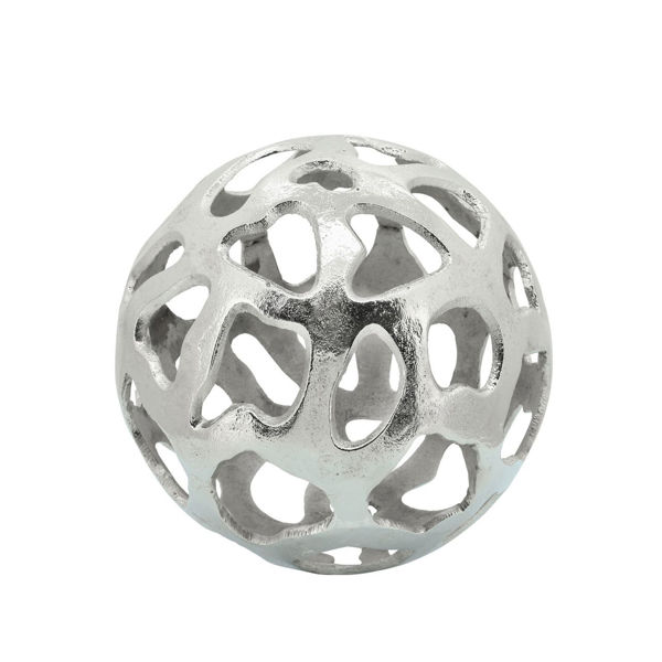 Picture of SILVER METAL CUT-OUT ORB