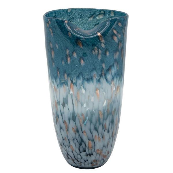 Picture of BLUE OCEAN ART VASE