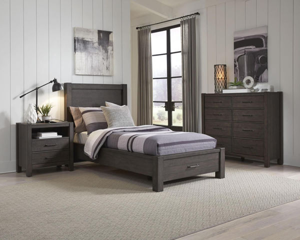 Picture of MILL CREEK TWIN STORAGE BEDROOM SET